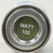 Humbrol 0102 Matt Army Green